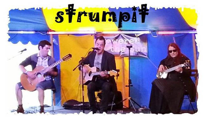 A Gypsy Jazz Trio with a Twist...